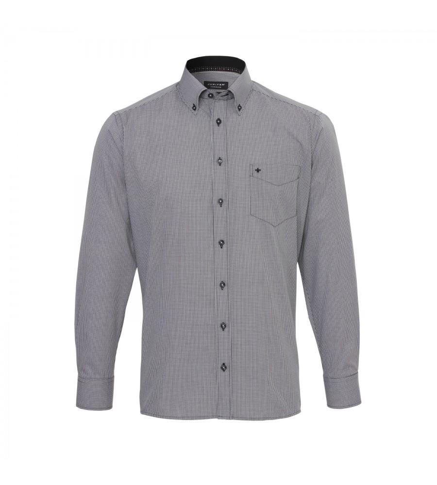 Kariertes Langarmhemd Modern Fit 2541-11221-050 03