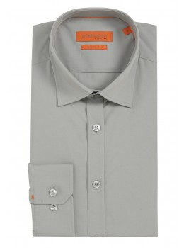 Unifarbiges Casual Hemd