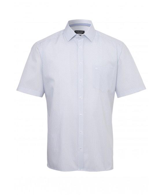 Modisches Print-Hemd ohne Brusttasche 2582-12121-174 front
