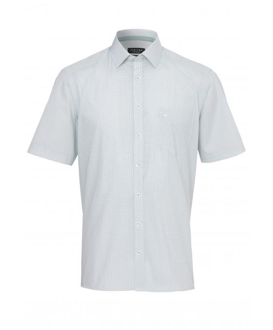 Modisches Print-Hemd ohne Brusttasche 2582-12121-474 front