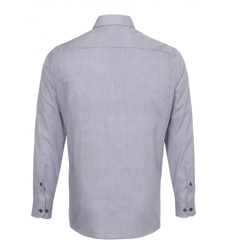 Modisches Print-Hemd ohne Brusttasche 2587-21120-175 back