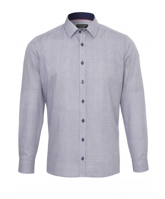Modisches Print-Hemd ohne Brusttasche 2587-21120-175 front