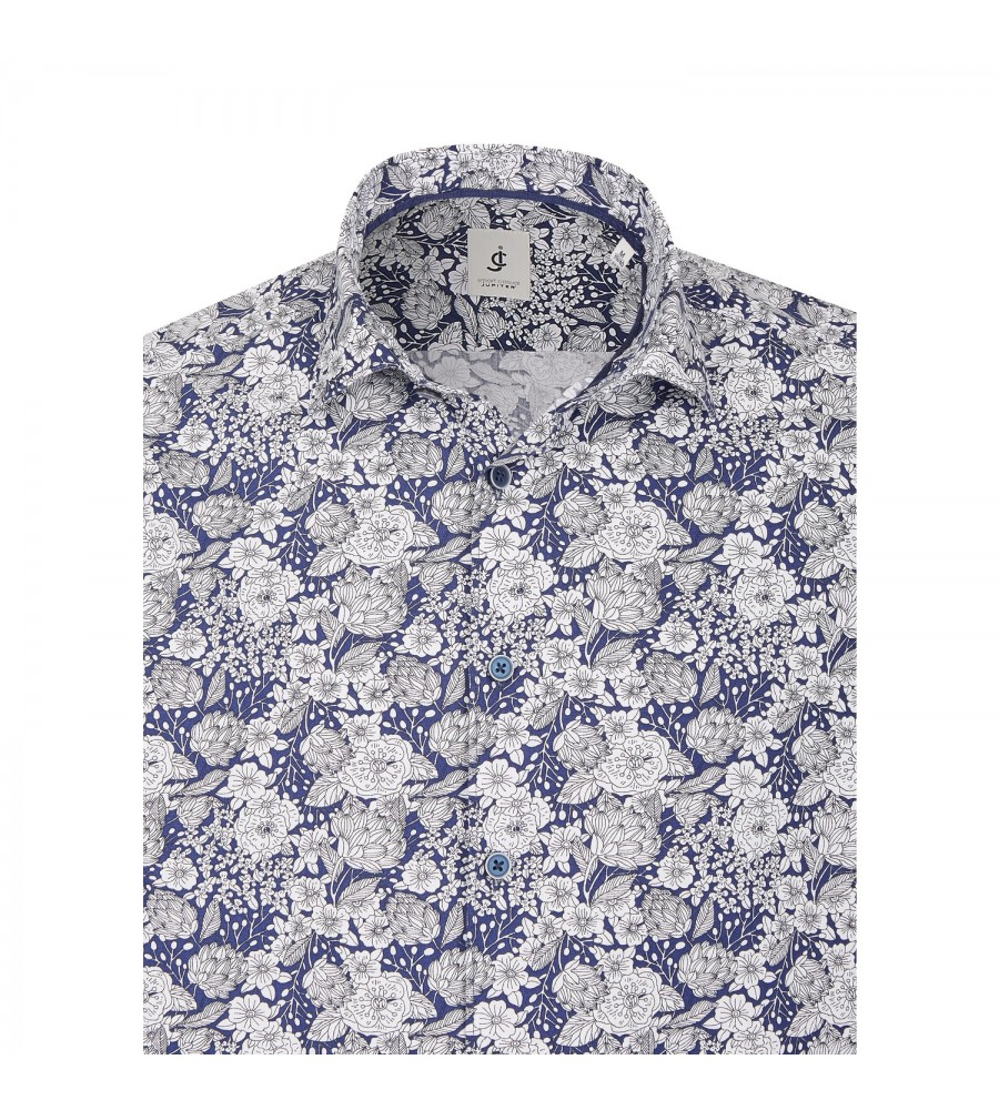 Langarmhemd mit Blumenmuster JC80108-41100-179 03