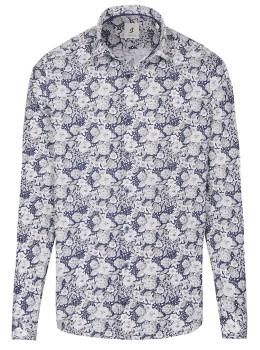 Langarmhemd mit Blumenmuster