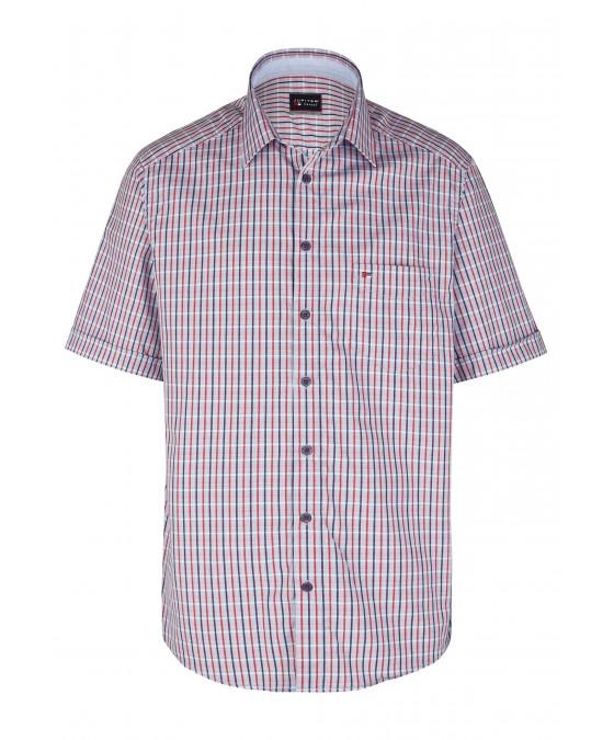 Modernes Hemd im Karo-Look Kurzarm JC90003-12111-356 front