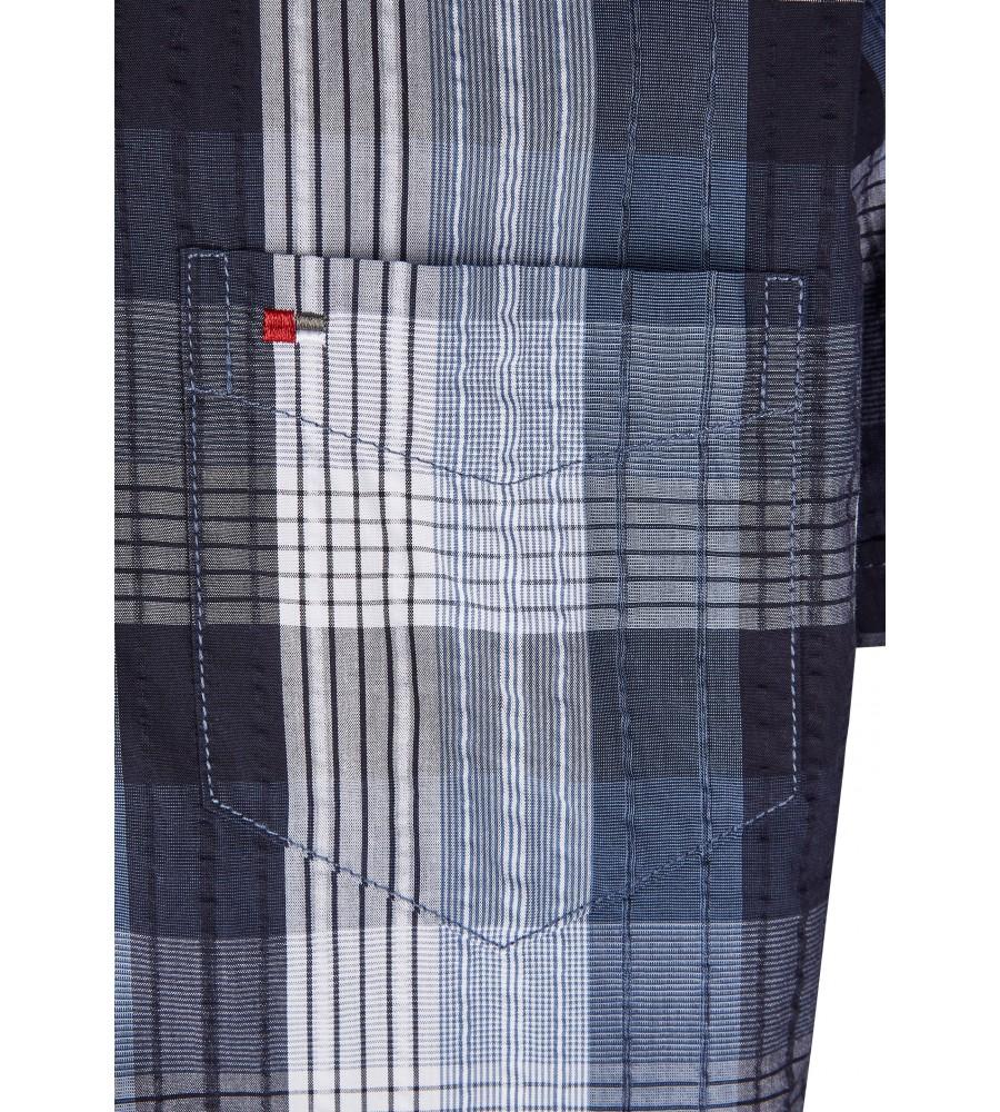 Modernes Hemd im Karo-Look Kurzarm JC90005-52111-158 detail2