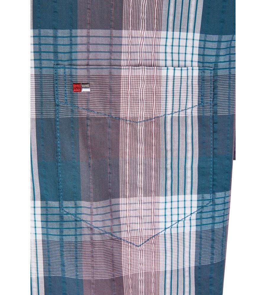 Modernes Hemd im Karo-Look Kurzarm JC90005-52111-357 detail2