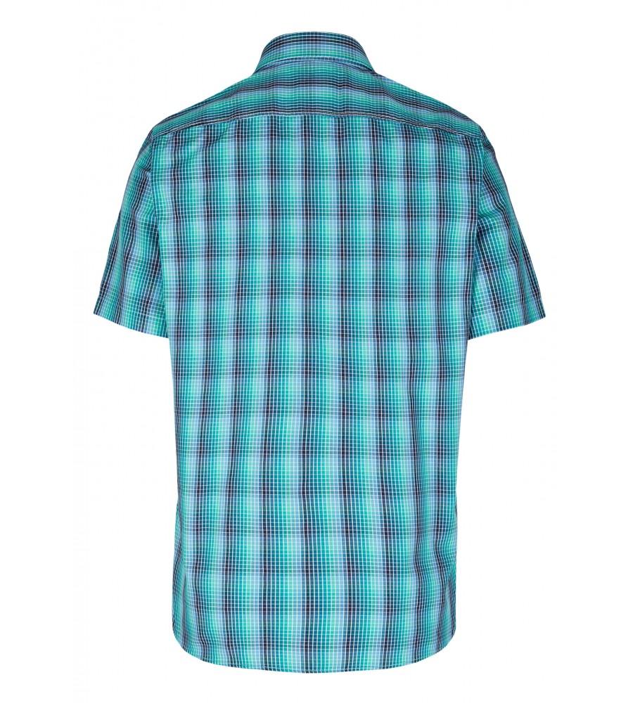 Modernes Hemd im Karo-Look Kurzarm JC90009-52111-455 back