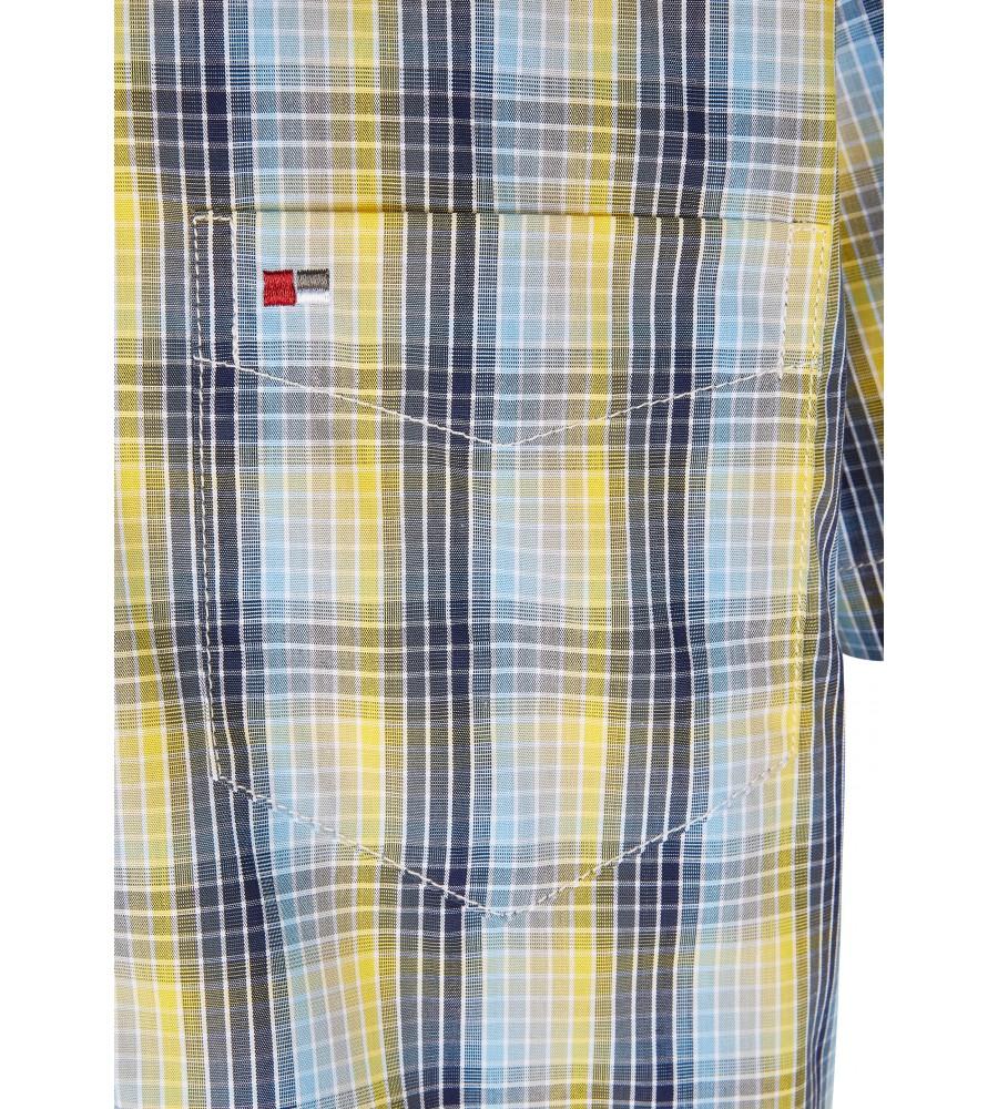 Modernes Hemd im Karo-Look Kurzarm JC90009-52111-554 detail2