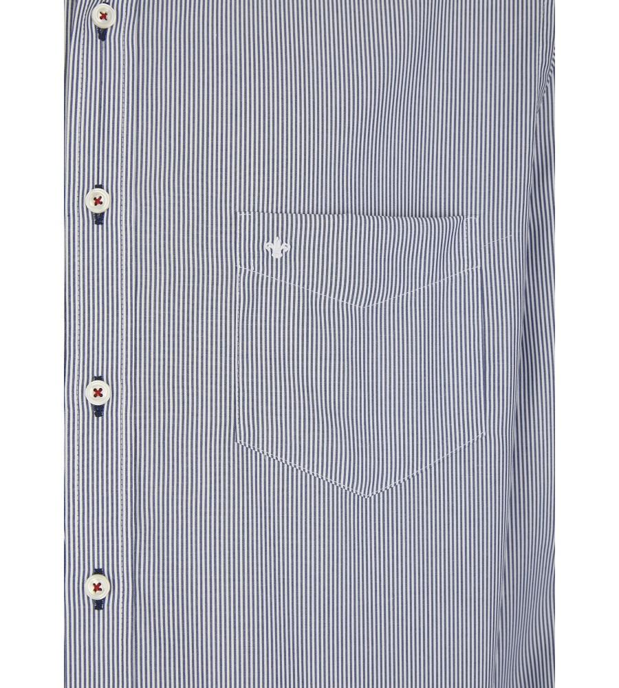 Streifenhemd mit modischem Doppelkragen JC90511-11221-166 detail2