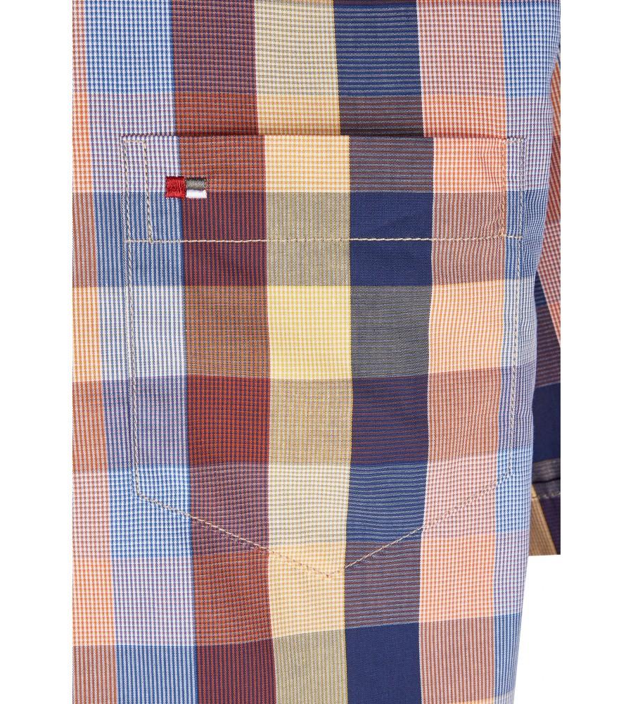 Modernes Hemd im Karo-Look Kurzarm JC94003-12111-653 detail2