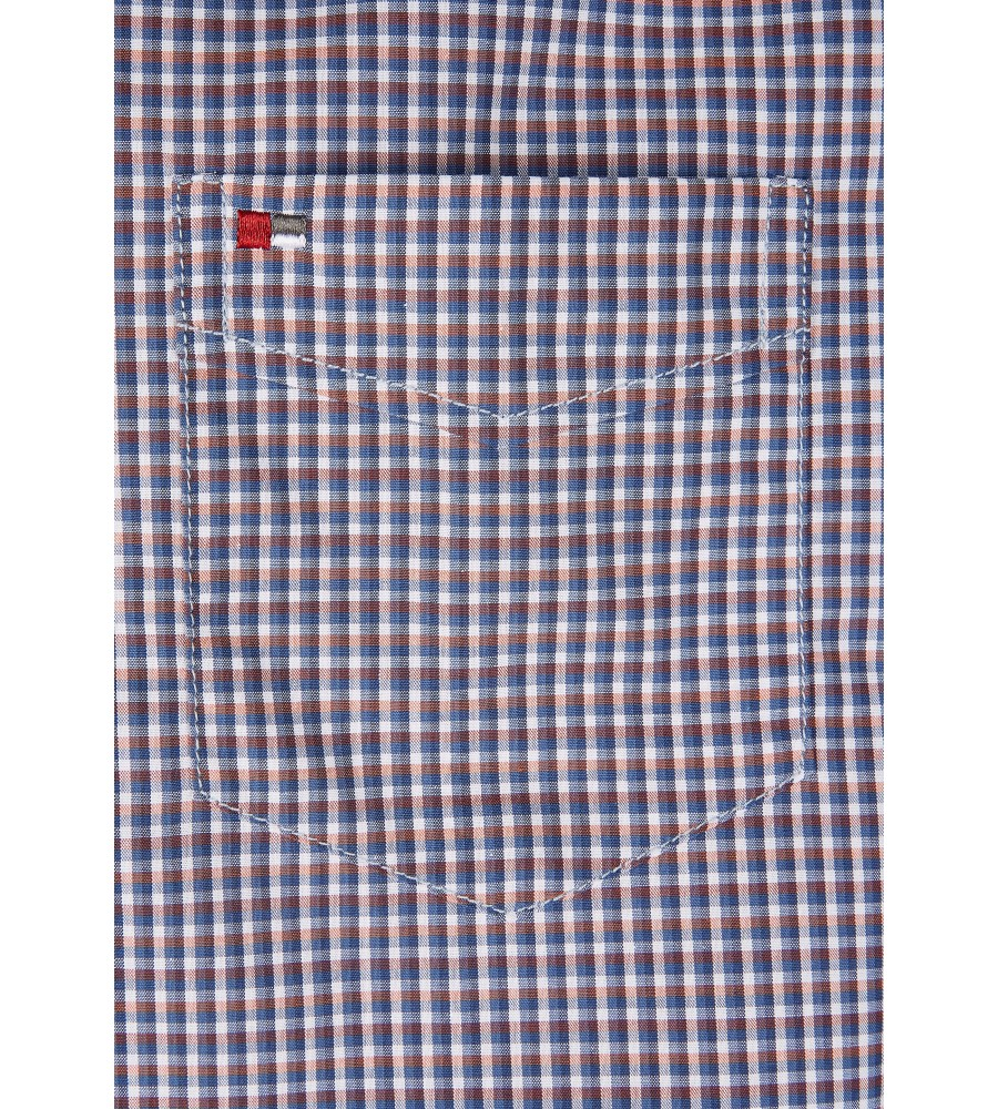 Modernes Hemd im Karo-Look Kurzarm JC94004-12111-654 detail2