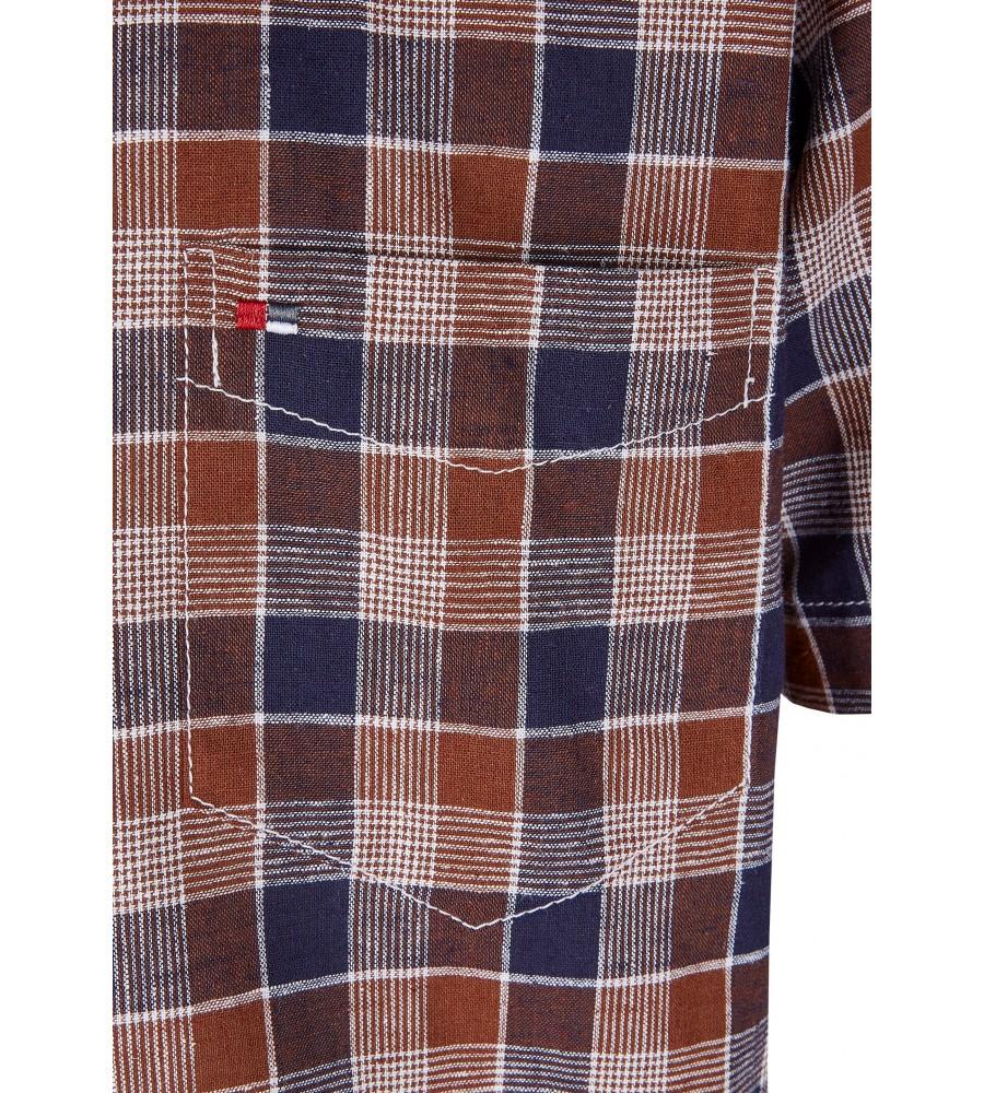 Modernes Hemd im Karo-Look Kurzarm JC94005-52111-256 detail2