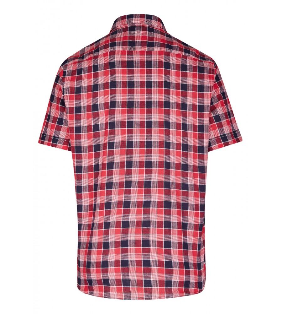 Modernes Hemd im Karo-Look Kurzarm JC94005-52111-355 back