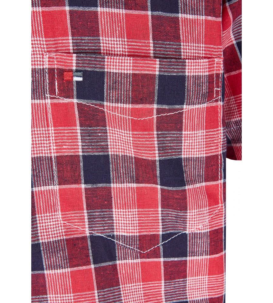 Modernes Hemd im Karo-Look Kurzarm JC94005-52111-355 detail2