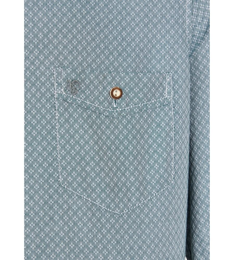 Zeitloses Trachtenhemd Langarm TC80002-81121-436 detail3
