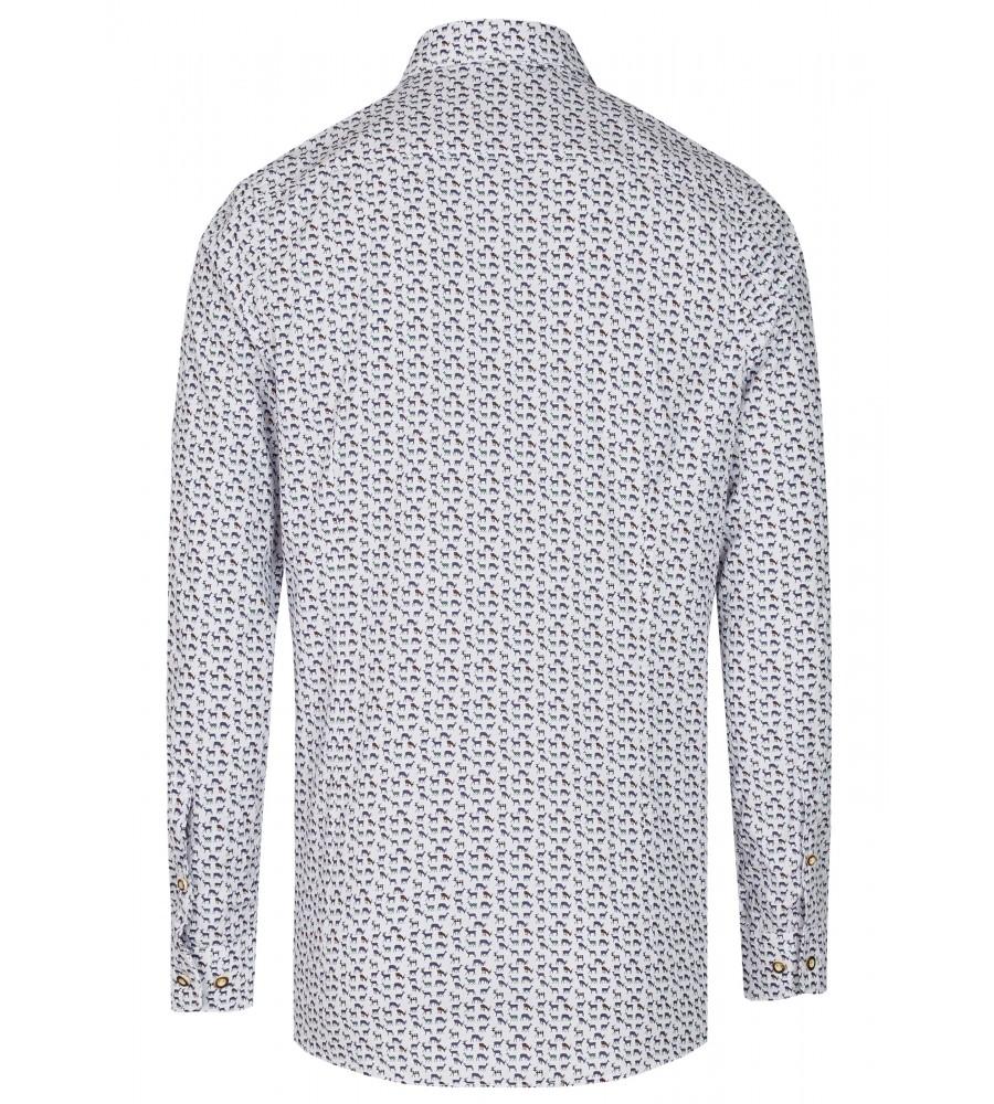 Zeitloses Trachtenhemd Langarm TC80011-31120-177 back