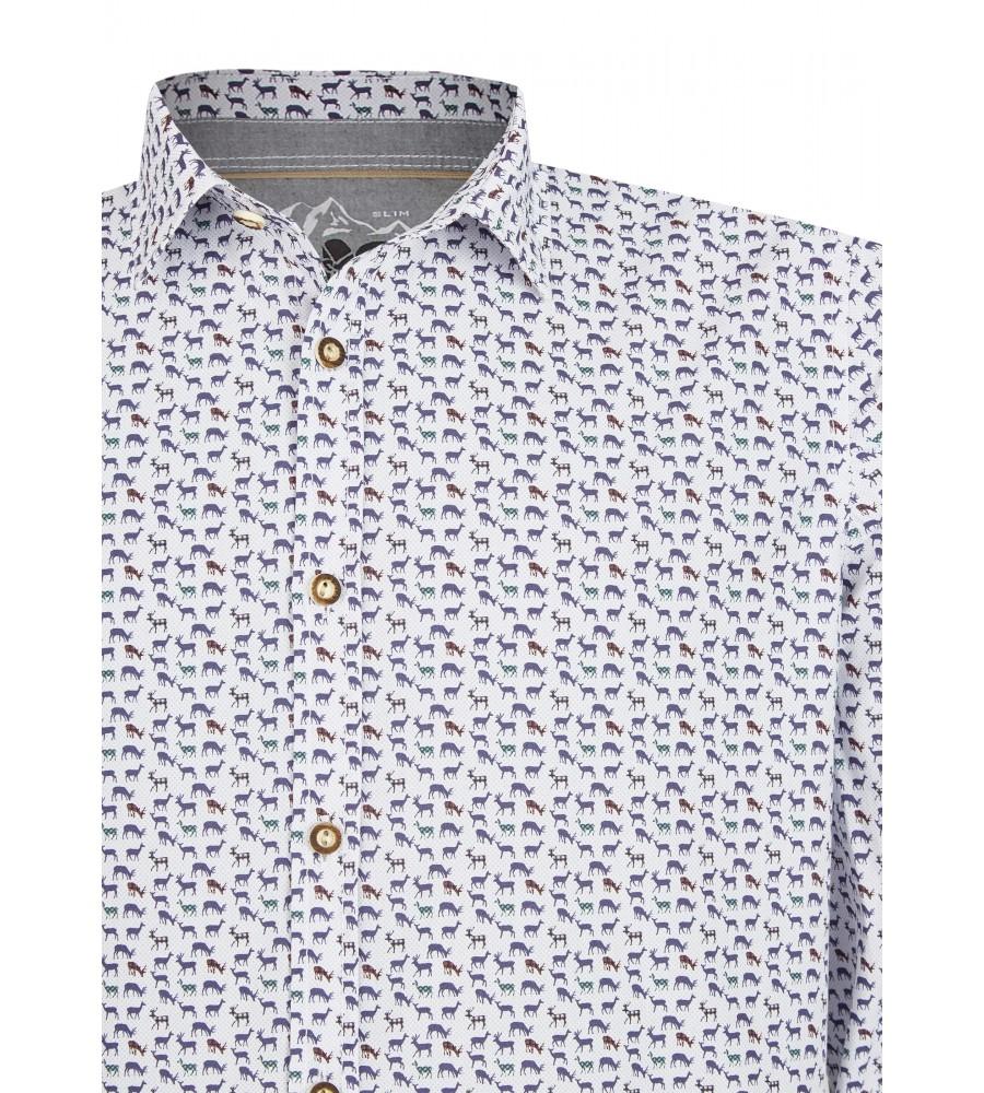 Zeitloses Trachtenhemd Langarm TC80011-31120-177 detail2
